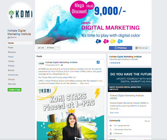 KDMI Facebook Marketing