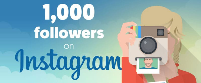 FASTEST WAY TO GET 1000 FOLLOWERS ON INSTAGRAM IN 1 MONTH!